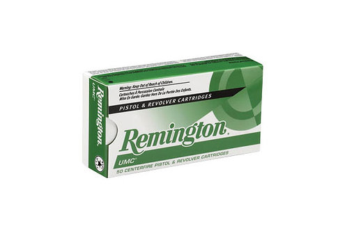 REMINGTON UMC CARTRIDGE .357M 125GR JSP