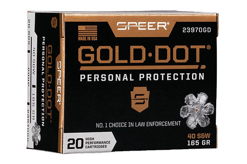 SPEER GOLD DOT 40 165GR GDHP