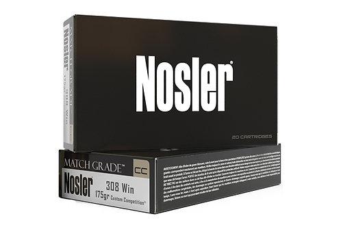 NOSLER MATCH GRADE .308 175 GR. CUSTOM COMPETITION HPBT