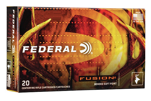 FEDERAL FUSION .300 WIN MAG 165GR
