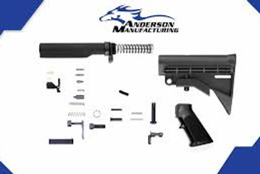 Anderson Lower Build (No Fire Control) Group