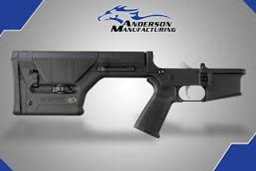 AM-15 COMPLETE LOWER, BLACK MAGPUL PRS – OPEN