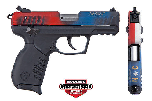 Ruger Model:SR22P Rimfire Pistol N.C. Flag !