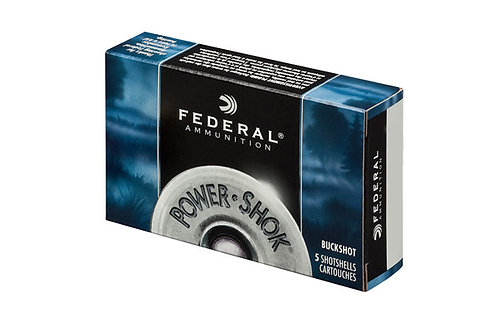 Federal BUCK PWRSK 12G 3-4-41PEL