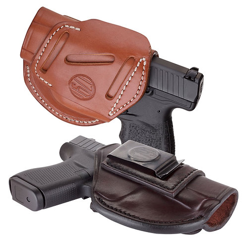 1791 Gun Leather 4 WAY CONCEALMENT & BELT LEATHER HOLSTER