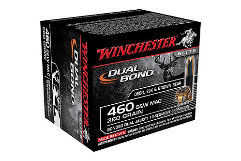 WINCHESTER DUAL BOND 460 SW MAG 260GR