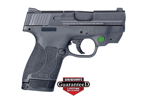 Smith & Wesson Model:M&P Shield M2.0 W/ Crimson Trace Green Laser