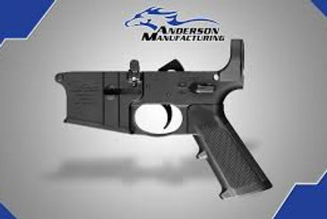 AM-15 ASSEMBLED LOWER RECEIVER – CLOSED TRIGGER WITH LOWER PARTS KIT INSTALLED