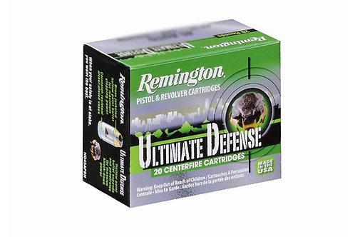 REMINGTON ULTIMATE DEFENSE 9MM 124GR BJHP
