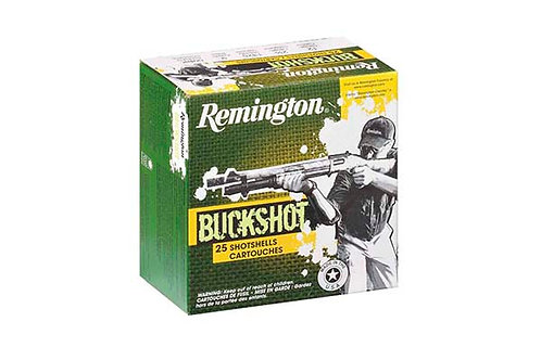 REMINGTON BUCKSHOT 12GA 2.75-00 9PEL