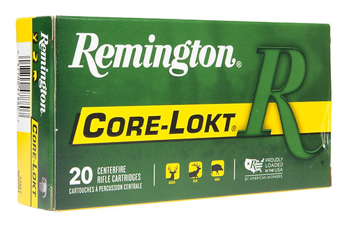 REMINGTON CARTRIDGE  .250 SAVAGE 100GR PSP