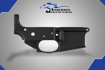AM-15 STRIPPED LOWER RECEIVER, CLOSED