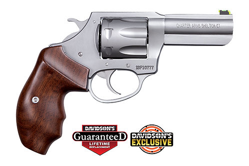 """CHARTER ARMS PROFESSIONAL .32 H&R MAG.  3"""" SS 7RD"""