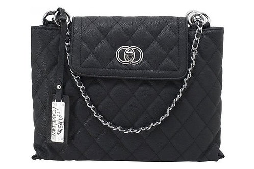 CAMELEON COCO CONCEALED CARRY PURSE-QUILTED STYLE HANDBAG BL