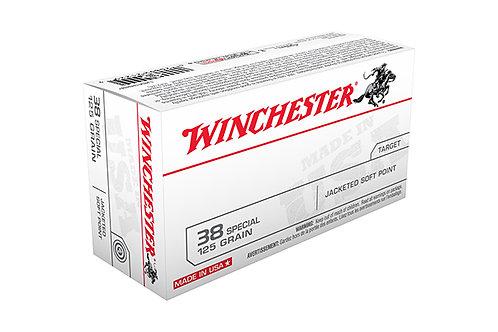WINCHESTER CARTRIDGE 38 125GR JFP