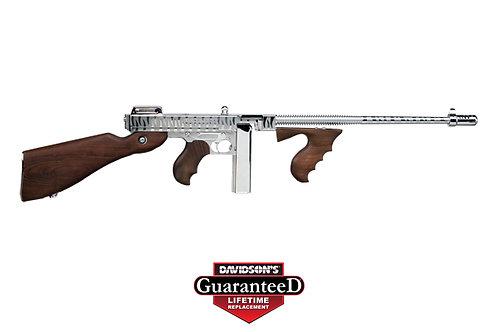 Kahr Arms|Thompson Model:Thompson 1927A-1 Deluxe Chrome Tiger Stripe