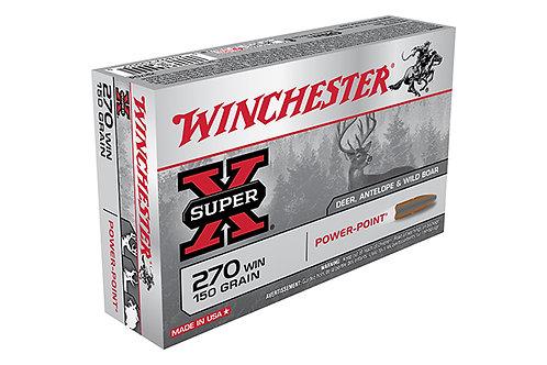 WINCHESTER SUPER X  270 150GR POWER POINT