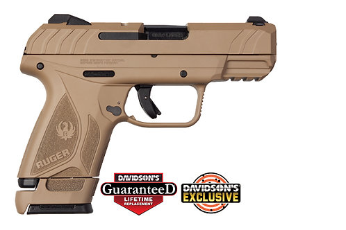 Ruger Model: 	Security 9 Compact Davidson's Dark Earth