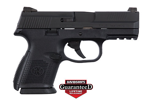 FNM FNS-9C 9MM 12/17RD BLK FS