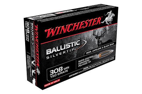 WINCHESTER BALLISTIC SILVERTIP .308 150 GR.