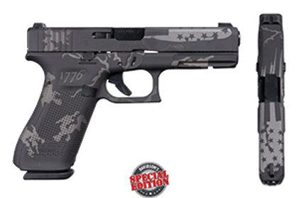 Apollo Custom|Glock Type: Model:Gen 5 17 Black & Gray Camo 1776