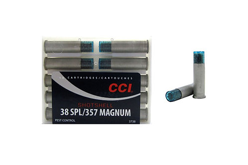 CCI CARTRIDGE 38SP SHOTSHELL