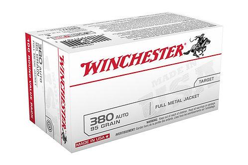 WINCHESTER CARTRIDGE .380 95GR FMJ 100PK