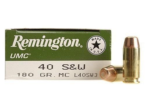 REMINGTON UMC .40 Cal - 50 Rounds