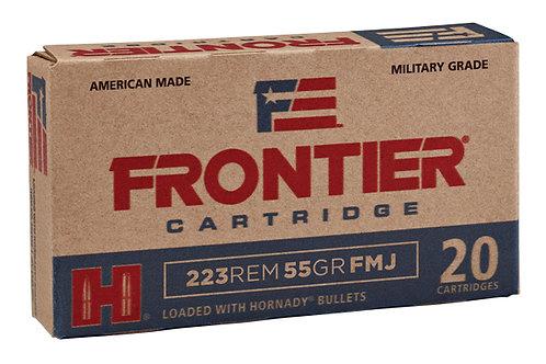 HORNADY 223 55GR FMJ FRONTIER