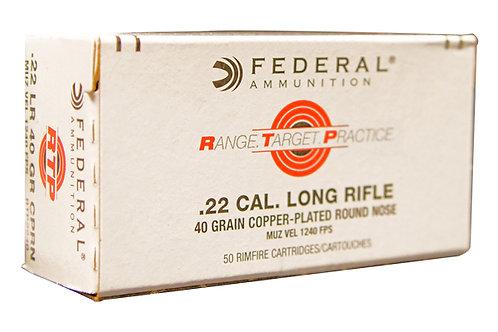 FEDERAL RTP 22LR 40GR CPRN