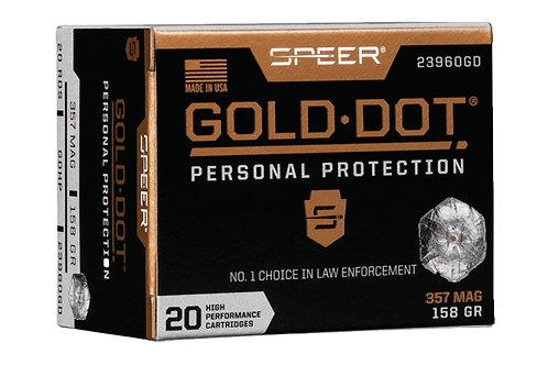 SPEER GOLD DOT 357 158GR GDHP