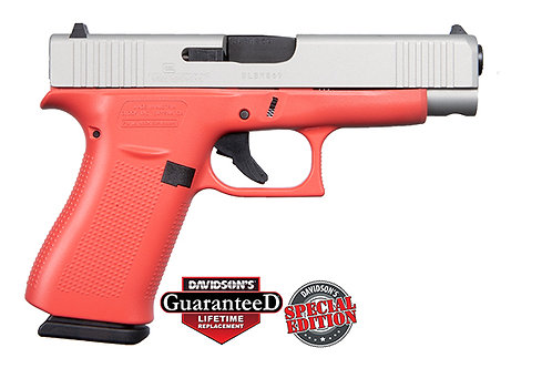 Apollo Custom|Glock  Model: 48 Coral Shimmering Aluminum