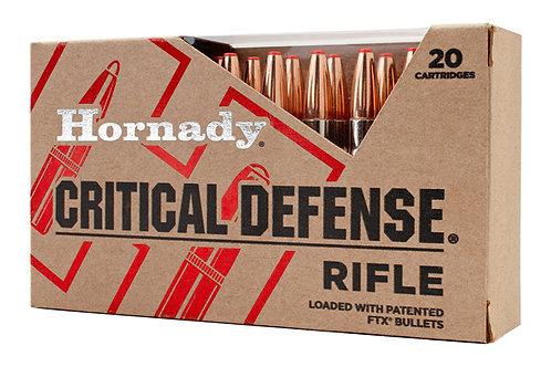 HORNADY 223 CRITICAL DEFENSE 55GR FTX