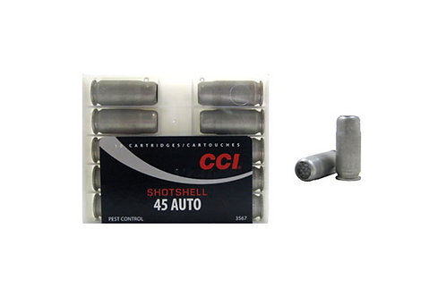 CCI CARTRIDGE 45AP SHOTSHELL
