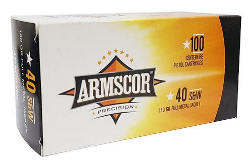 ARMSCOR 40SW 180GR FMJ 100PK