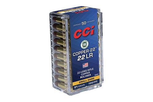 CCI 22LR COPPER-22 21GR CHP