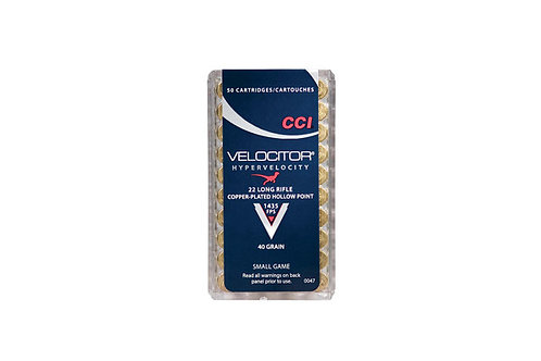 CCI CARTRIDGE 22LR VELOC 40GR CPHP