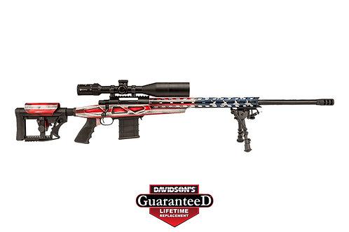 Legacy Sports Intl|Howa Model:M1500 Bolt Action APC American Flag Rifle RWB