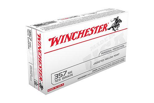 WINCHESTER CARTRIDGE 357SIG 125GR JHP