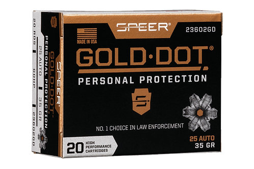 SPEER GOLD DOT 25AP 35GR GDHP