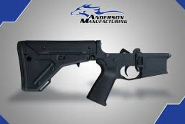 AM-15 COMPLETE LOWER, BLACK MAGPUL UBR – OPEN