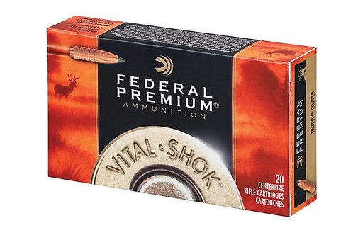 FEDERAL PREMIUM .30-06 165GR COPPER V-SHOK
