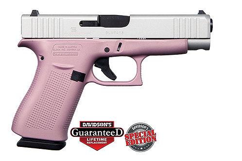 Apollo Custom|Glock  Model:48 Pink Champagne Shimmering Aluminum