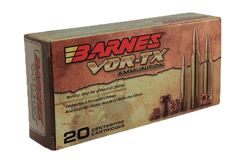 BARNES CARTRIDGE .30-06 168GR VOR-TX