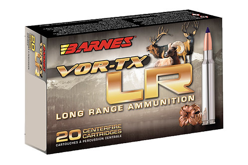 BARNES VOR-TX 7MM 139GR LONG RANGE