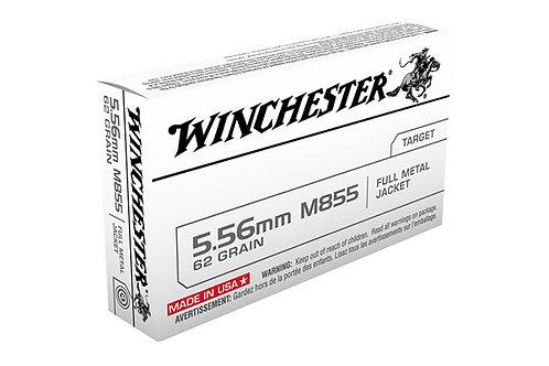 WINCHESTER CARTRIDGE 5.56 62GR GREEN TIP USA