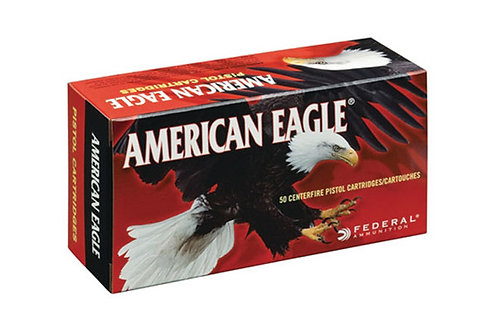 FEDERAL CARTRIDGE 40SW 165GR FMJ