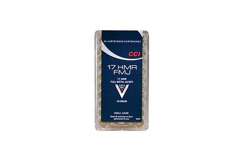 CCI CART 17HMR 20GR FMJ