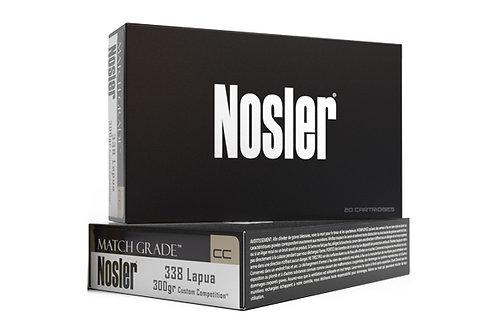 NOSLER MATCH GRADE 338 LAPUA 300GR CC HPBT