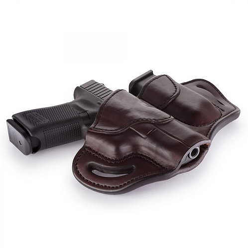 1791 Gun Leather COMBO OPEN TOP MULTI-FIT BELT HOLSTER 2.1 AND MAG 1.2